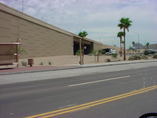 Grand Ave overpass at Thomas road