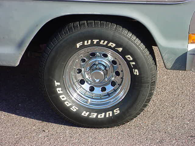 ford truck wheel