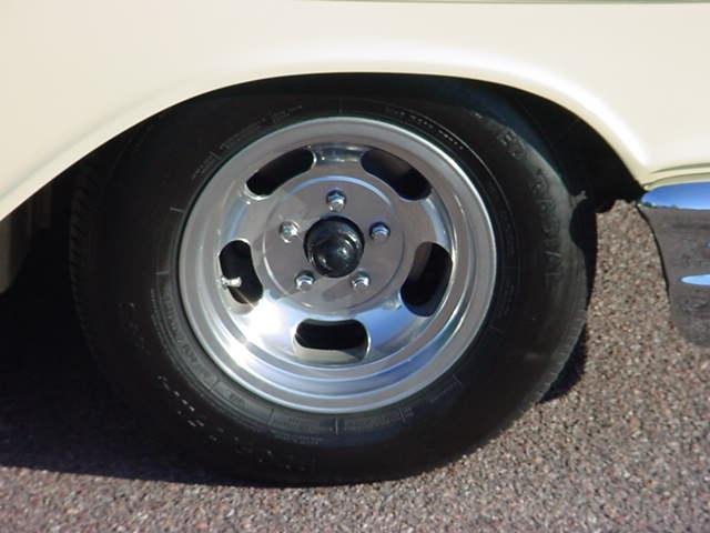 57 Chevy wheel