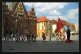 Wroclaw  Lénine exemple de la jeunesse