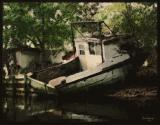 Abandoned Boat w/Paint Texture Action
