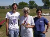 August: Rori, J & J birthdays, hospital weekend, mom's walk and biking