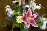 Cathy's 27th wedding anniversary flowers
