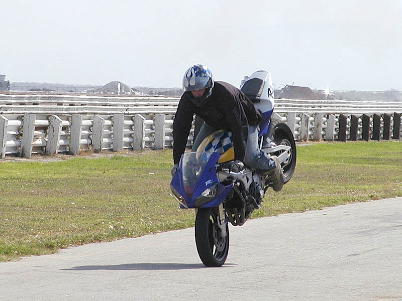 Learning the wheelie