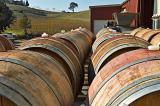 Barrels at Tobin James Winery