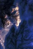 tangential sun on alaska ice