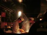preparing food near tokyo-eki
