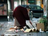 sweeping woman in yokosuka