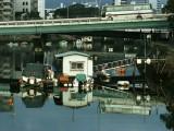hiroshima boats and bus