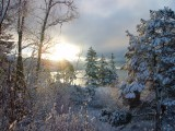 Winter View of Lake WhatcombyAnn Chaikin