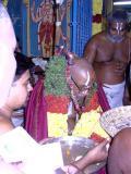 Divya desa mariyAdai offered to Jeeyer swamy in front of aranganagarappan sannadhi (vanamamalai mutt)-2
