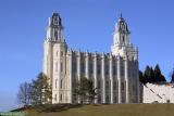Manti LDS Temple - South Face