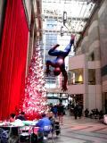 Spiderman at Sony Plaza