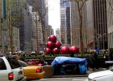 Giant Ornaments on 6th Avenue
