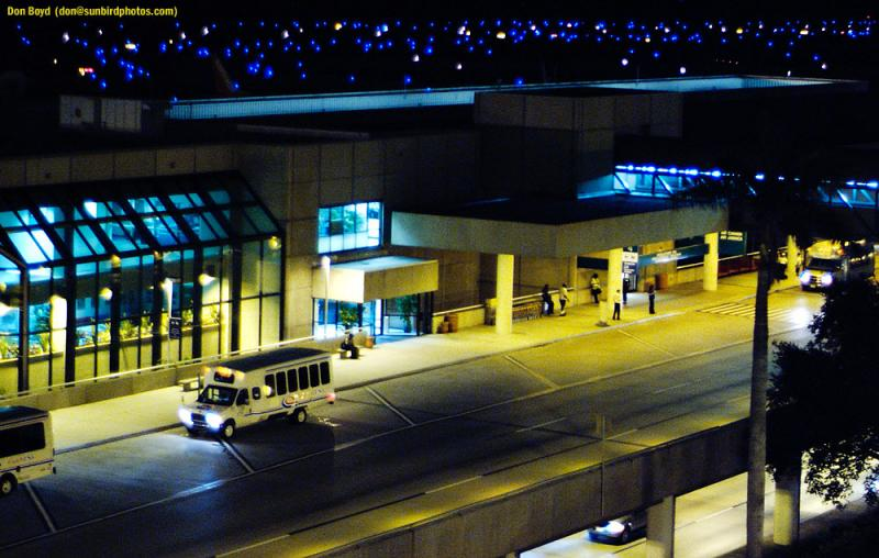 Terminal 4 at Ft.  Lauderdale-Hollywood Intl Airport stock photo