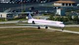 Continental Airlines MD82 N14831 aviation stock photo #3032