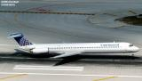 Continental Airlines MD82 N14831aviation stock photo #3034