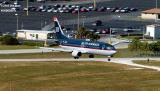 US Airways B737-401 N417US aviation stock photo #3035
