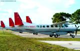 4 Venezuelan Cessna Caravans YV-658C aviation stock photo
