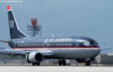 US Airways B737-4B7 N444US aviation stock photo