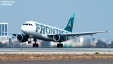 Frontier Airlines A319-111 N905FR aviation stock photo