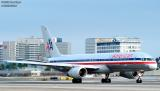 American Airlines B757-223 N609AA aviation stock photo