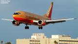 Southwest Airlines B737-3H4 N356SW aviation stock photo
