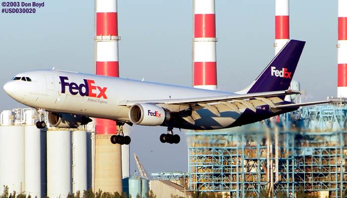 FedEx A300F4-605R N654FE aviation stock photo #2538
