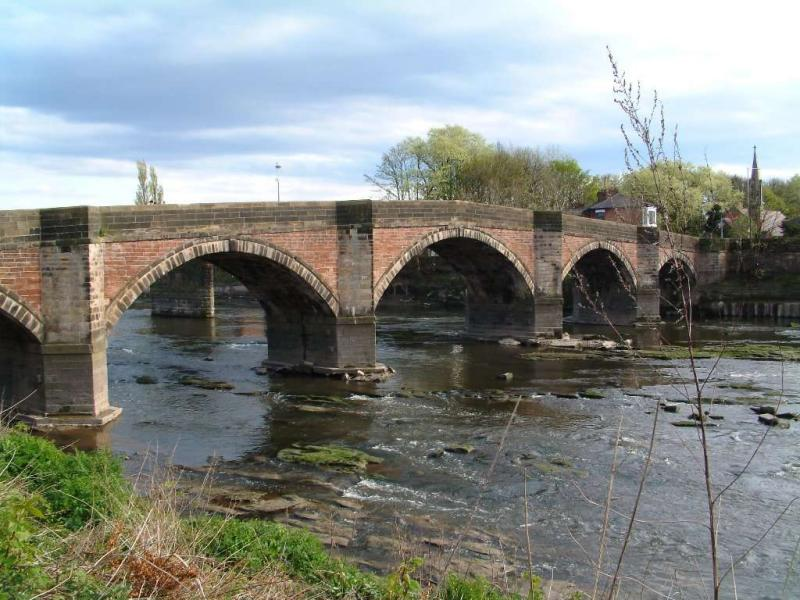 Old Bridge over the Ribble