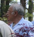 Walt Ligon, Glenn O'Sheal behind him