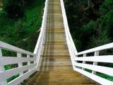 Quince Street Footbridge Abstract