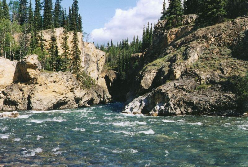 Lapie River, Yukon.