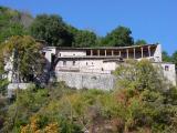 The old monastery waves you bye-bye