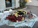 Crawfish Boil at Shirley and Irv's