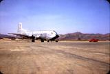 C-124 Globemaster from Tachikawa. Picture taken at K-2 Taegu