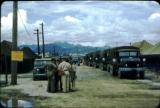 Evac line up before the Han River flood in 1954.