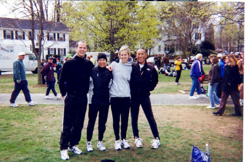 Hopkington, MA -- Start of the Boston Marathon