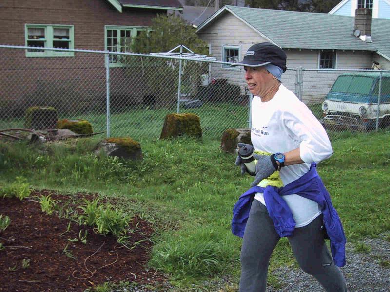 Lynn Werner (2nd woman, ran WSU 100K last week)
