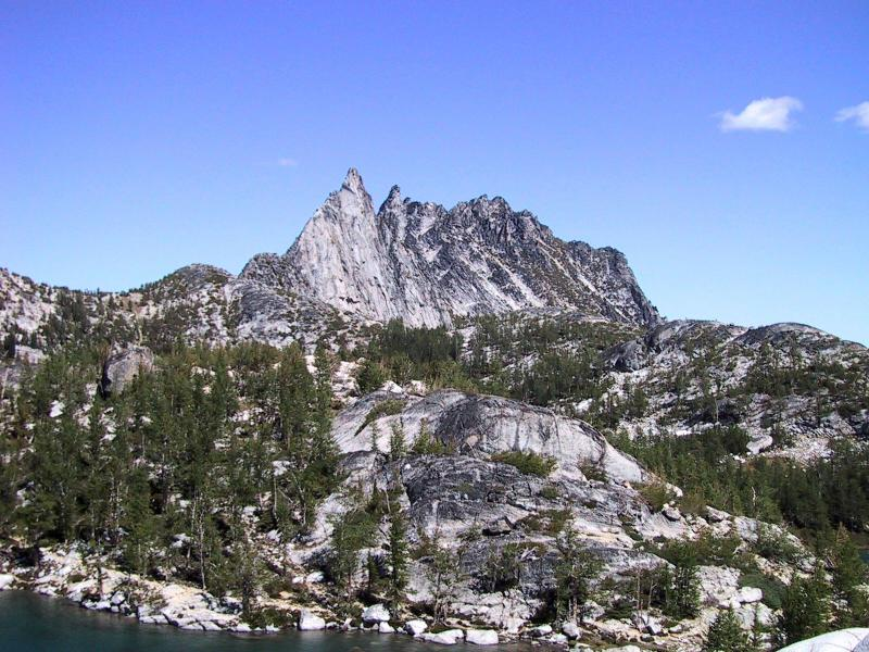 Another view of Prusik Peak