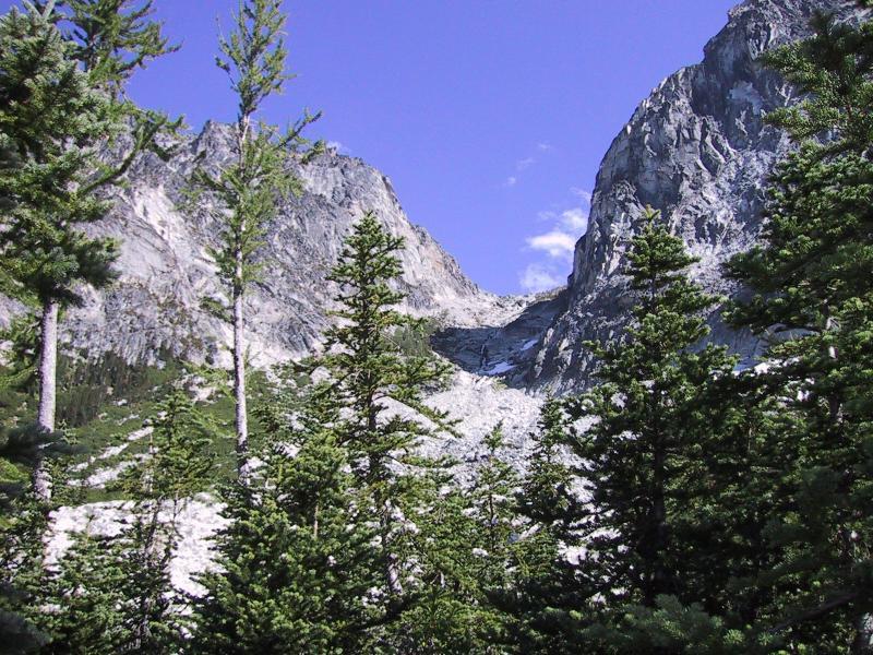 Aasgard Pass from Colchuck Lake