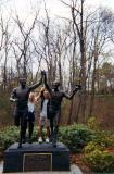 Janeen & Glenn -- John Kelly Statue