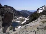 Aasgard Pass - 7,750 ft.  facing west