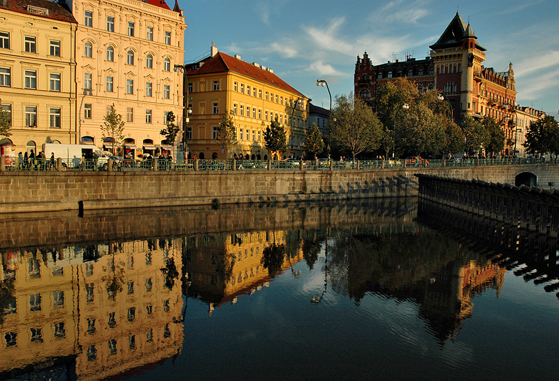 Prague Reflections (7th place Exhib)