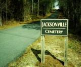 Jacksonville Cemetery Sign