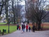 Rainy day in the Kurpark
