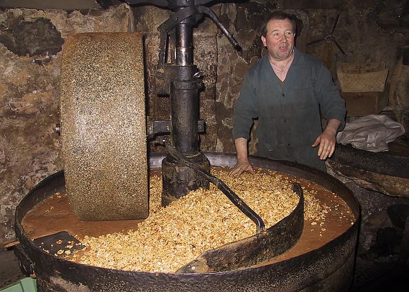 huile de noix fabrication maison