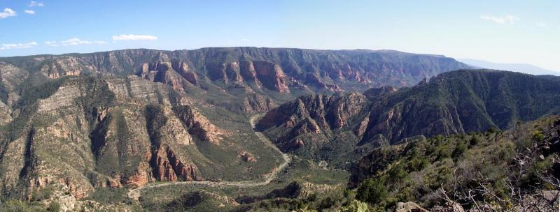 Sycamore Canyon (from the top)