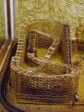 Toothpick roller coaster