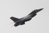 F-16 climbs