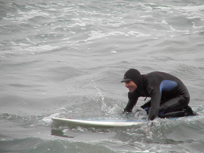 ...catch a wave, and youre sittin on top of the world